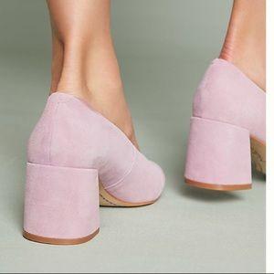 a6f87178859 Anthropologie M4D3 Shoes - Anthropologie - M4D3 Helen Block Heel Pump
